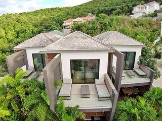 Mi-appartement / mi-villa avec 2 chambres 6 personnes + Voiture location offerte - Gustavia vacation rentals