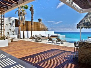 Villa Serena 5 Bdrm Beachfront Paradise - SPECIAL RATE  - CALL TODAY - San Jose Del Cabo vacation rentals