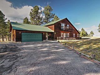 5BR Angel Fire Cabin w/ Indoor Hot Tub! - Angel Fire vacation rentals