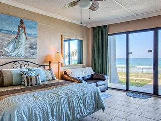 Direct Ocean Front, Spacious & Bottom Unit (Yet Away From Crowds) Just Steps to - Daytona Beach Shores vacation rentals