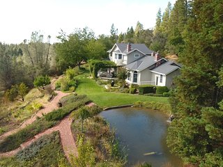 Twin Eagles Estate - up to 6 guests, 3 bed/4 bath. Private, great views. - Nevada City vacation rentals