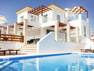 Modern VILLA, heart of Coral Bay, 2 min from beach, PRIVATE Heated Pool - Kissonerga vacation rentals