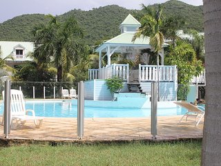 Modern apartement almost on the beach in a  tropical residence with 3 pools - Anse Marcel vacation rentals