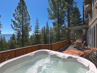 HavenCrest - Gorgeous, awe inspiring lake views at this 5 BR Home w/ Hot Tub! - Carnelian Bay vacation rentals