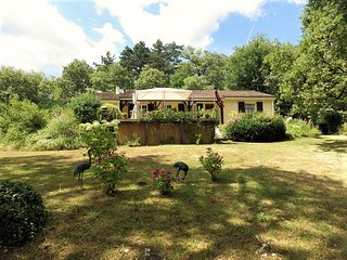 La Pierre Plantee located in a tranquil woodland setting. - Martel vacation rentals