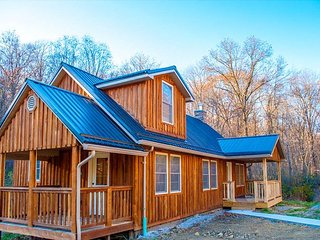 OVR's Cottage on Meadow Run.  Cozy Cabin Overlooking Beautiful Natural Stream - Farmington vacation rentals