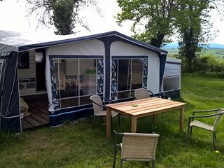 Nice Rental caravan with great mountain view. - Lapalisse vacation rentals