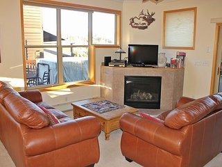 Pleasing Townhouse with Fireplace, single Garage, Private Laundry, and wifi - Silverthorne vacation rentals
