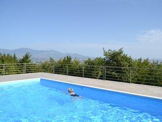 Maison 8 personnes avec piscine privée et wifi. Vue exceptionnelle. - Roccamorice vacation rentals