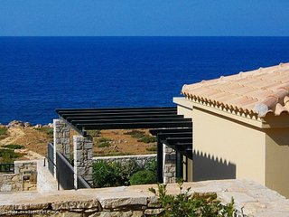 Fully furnished seafront apartment with amazing sea views for long term rental - Panormo vacation rentals