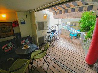 ✌ BEACHFRONT FULL SUITE + 2 FREE BICYCLES - Tel Aviv vacation rentals