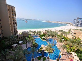 Full SeaView Fairmont - The Palm 2 Bed +Mrm Apt - Dubai vacation rentals