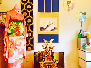 Japanese culture house near JR Ikebukuro!Cooking,Kimono,Green Tea,Anime,Music!! - Nishitokyo vacation rentals