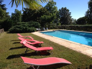 Spacious mansion with swimming-pool - Liorac-sur-Louyre vacation rentals