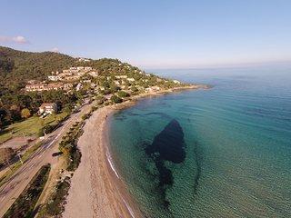 Location en bord de mer pour 3 personnes à Monte Marina. Vue mer panoramique - Conca vacation rentals