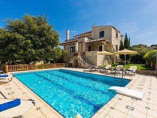 Villa Eleftherna - Stone Made Luxury Villa - Rethymnon vacation rentals