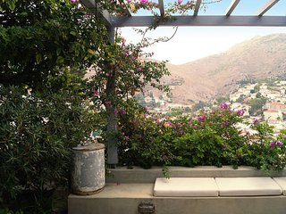Majestic views with 100m2 garden - Hydra Town vacation rentals
