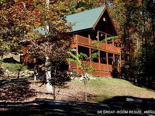 WEARS VALLEY LOG CABIN VACATION RENTAL - Wears Valley vacation rentals