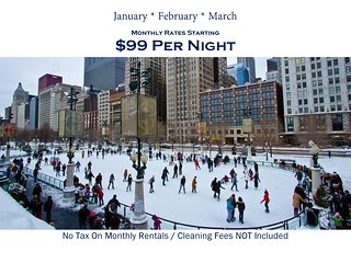 Teri's Chicago Guest House * Addison Suite * HOT Winter Rates Starting at $99nt - Chicago vacation rentals