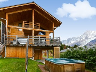 Modern environmentally friendly chalet with a fantastic view - Les Houches vacation rentals