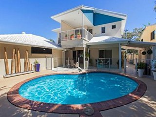 Stunning Waterfront Home with pool - 115 Sylvan Beach Esp - Bribie Island vacation rentals