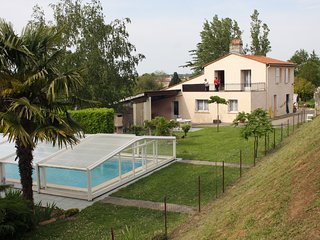 House with 2 rooms in Gauriac, with pool access and enclosed garden - Gauriac vacation rentals