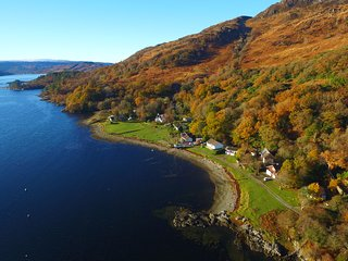 Ardnamurchan  Home by the Shore ' SeaBreeze ' Otters & Wildlife seen regularly - Salen vacation rentals
