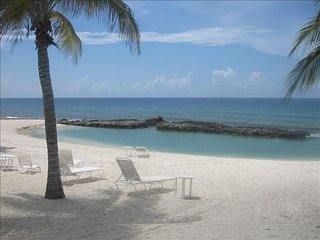 On The Bay - North Side Beachfront 3BR, 3Bath Condo - near Rum Point - Old Man Bay vacation rentals