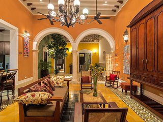 Casa Castellanos full of Light and Color - Merida vacation rentals