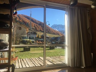 Apartment with 2 rooms in Vars, with wonderful mountain view and furnished garden - 300 m from the slopes - Vars vacation rentals