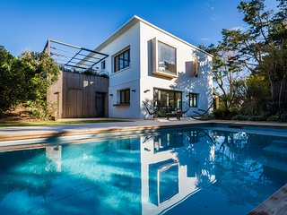 Stunning 5 bed. Design Contemporary Villa in Bidart - Pool & Ocean views - Bidart vacation rentals