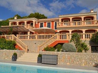Luxury villa overlooking Puerto Portals/Mallorca - Costa d'en Blanes vacation rentals