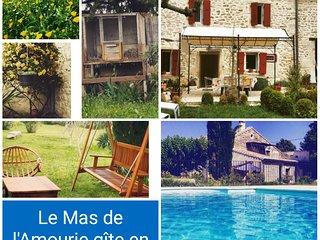 Mas en Provence avec piscine et terrain - Saint Paul Trois Chateaux vacation rentals