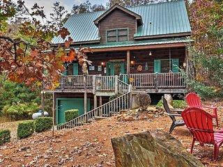 NEW! 3BR Quiet & Serene Ellijay Cabin w/Fire Pit! - Ellijay vacation rentals