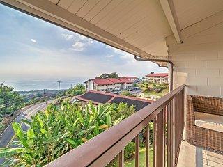 NEW! Wonderful 2BR Holualoa Condo w/Ocean View! - Holualoa vacation rentals