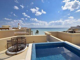 Stunning Caribbean Beachfront Condo (EFC402) 35% off - Playa del Carmen vacation rentals