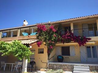 Villa 170 m2 avec belles prestations, magnifique vue mer du  golfe du Valinco - Serra-di-Ferro vacation rentals