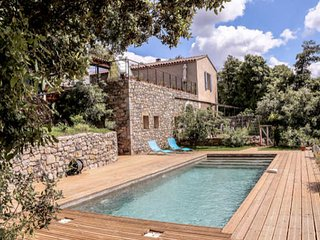 Corconne French holiday rental South France with pool (sleeps 6) - Corconne vacation rentals