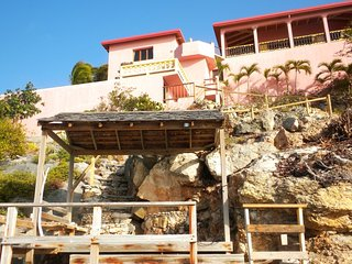 Contemporary 3 bedroom villa with natural stone pool - Island Harbour vacation rentals