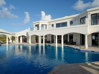 Luxury signature 15,500 sq ft villa, with amazing pool - Meads Bay vacation rentals