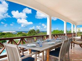 Luxurious 5 bedroom villa overlooking the ocean - Shoal Bay Village vacation rentals
