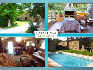 Fantastic La Foixa getaway for 8 people, only 15km from Girona - Girona vacation rentals