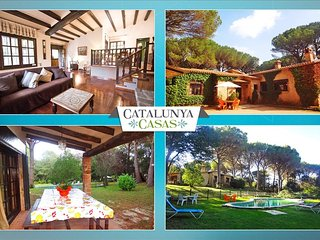 Charming 5-bedroom villa in Santa Cristina d'Aro, just 5 min by car to the beach - Santa Cristina d'Aro vacation rentals