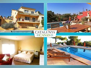 Coastal villa in Castellet, 6km from Costa Dorada beaches - L'Arboc vacation rentals
