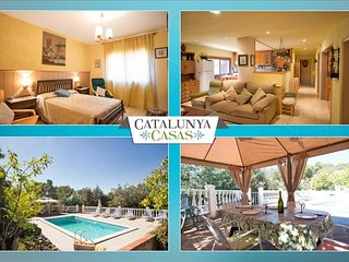 Vacarisses Grande for 16 people with a private pool, 40 minutes from Barcelona - Vacarisses vacation rentals