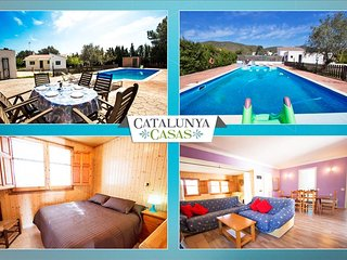 Charming Villa La Juncosa for 8 guests only 20km from the beach! - Rodona vacation rentals