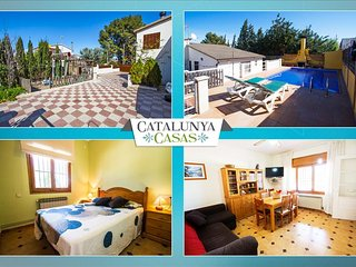 Angelic villa in Bellvei for 9 guests, only 3km from the beaches of Costa - Bellvei vacation rentals