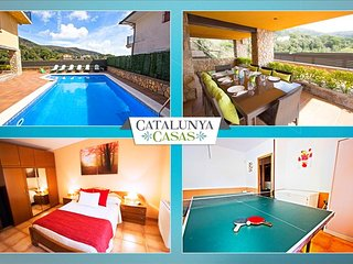 Villa Sant Iscle in Costa Maresme, only 15 minutes to the beach! - Sant Cebria de Vallalta vacation rentals