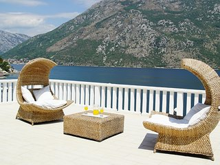 Penthouse Stoliv 100m2 5m/sea Private Jetty/Pier/Beach Located in Stoliv - Kotor vacation rentals