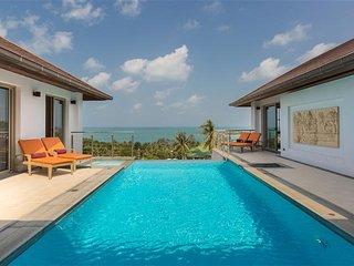 Villa Ganesh - Stunning 3 Bedroom Sea View Villa - Choeng Mon vacation rentals